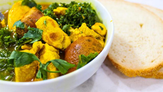 Immunity Boosting Turmeric Soup