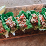 Easy Tuna Salad Lettuce Wraps