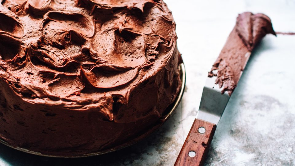 AMAZING Grain-Free Sugar-Free Chocolate Cake (Chocoholics Only)
