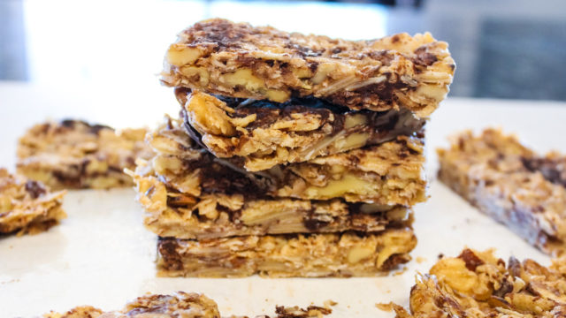 Easy Ketogenic and Metabolic Granola Bars. On The Go Snack or Breakfast!