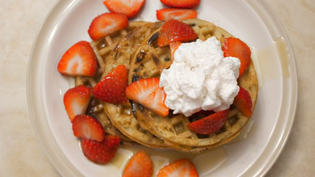 Grain-Free Belgian Waffles for National Waffle Day!