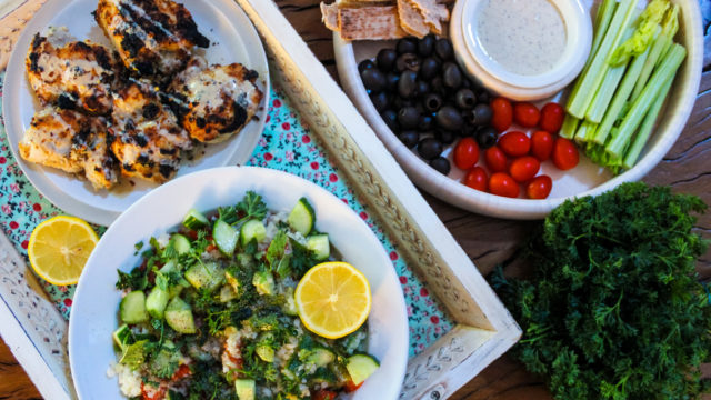 A Metabolic Middle Eastern Feast, Perfect For Warm Summer Evenings