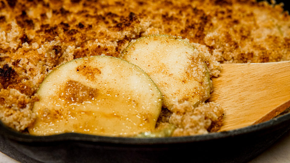 Apple Crisp… with a Healthy Twist! Low-Carb, Grain-Free, Easy Fall Dessert