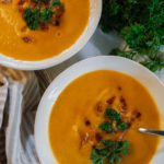 How to Make Butternut Squash Soup | Dairy-Free, Extra Creamy