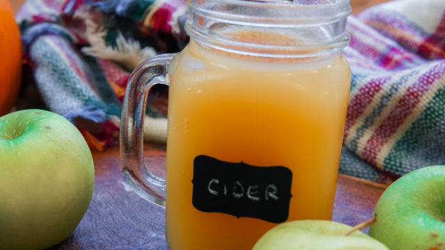 Homemade Apple Cider, Without the Junk!