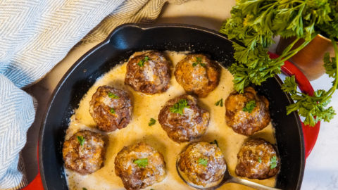 The Best Swedish Meatballs… Dairy-Free!