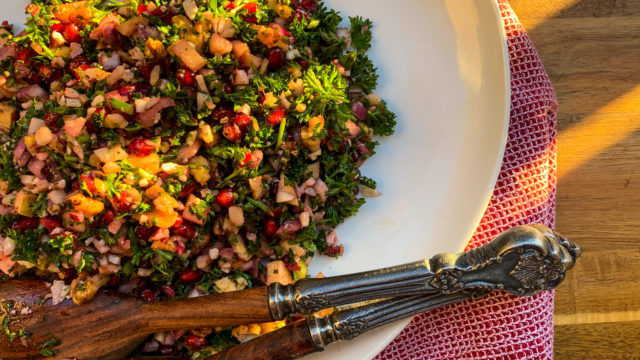 Fall Tabbouleh Salad