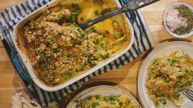 Use Up Your Leftovers with this Low-Carb Turkey Tetrazzini