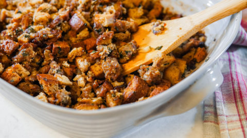 Up Your Stuffing Game with this Low Carb, No-Fail Recipe