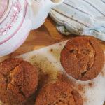 VEGAN + GRAIN-FREE Cinnamon Crumb Muffins