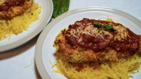 Grain-Free, Dairy-Free Chicken Parmigiana