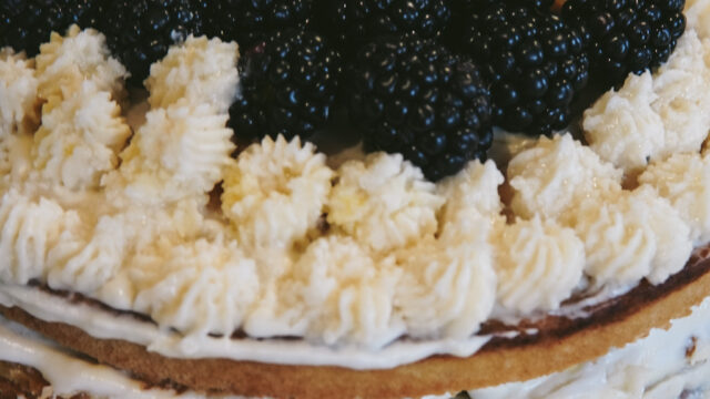 Fluffy Lemon and Blackberry Cake | Gluten, Dairy, and Refined Sugar-Free