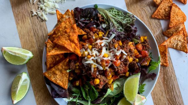 Best Ever Taco Salad for Cinco De Mayo