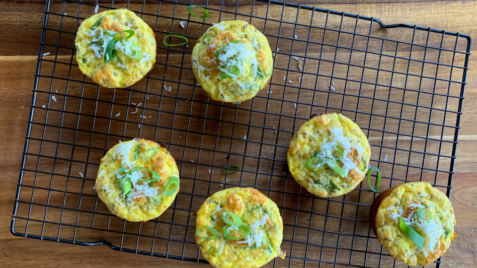 Easy Egg Muffins for a High Protein Breakfast or Snack!